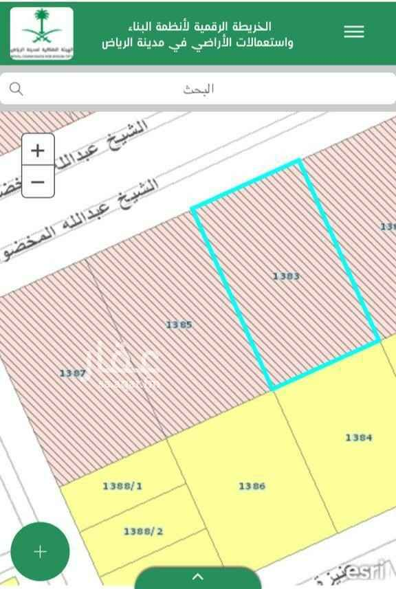 أرض للبيع في شارع عنيزه ، حي الفلاح ، الرياض ، الرياض
