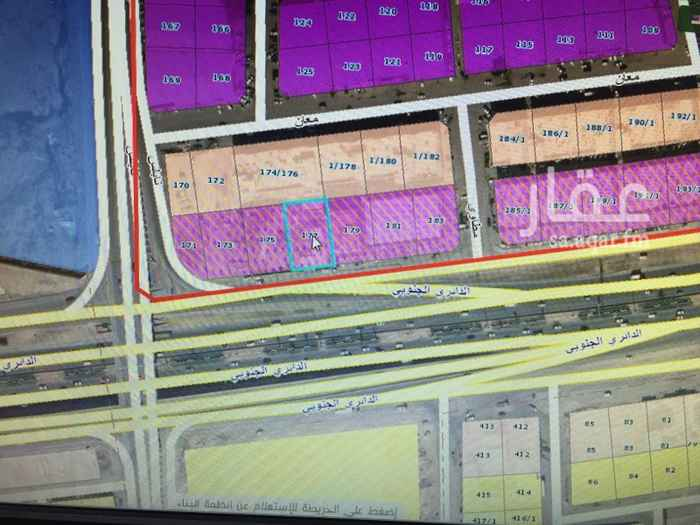 أرض للبيع في الطريق الدائري الجنوبي ، حي الفيصلية ، الرياض ، الرياض