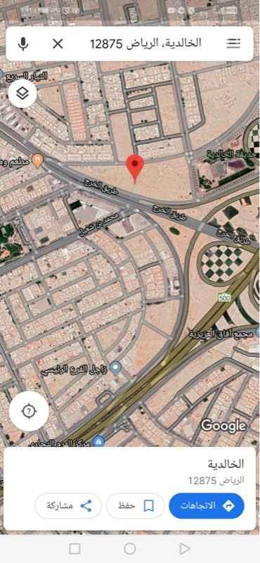 أرض للبيع في شارع حسن عبدالوهاب ، حي الخالدية ، الرياض ، الرياض