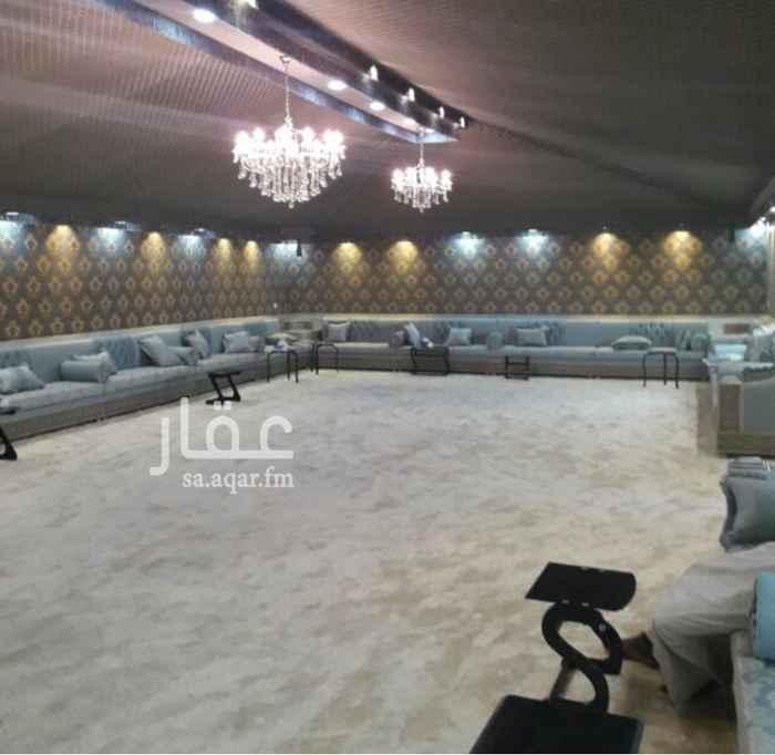 مخيم للإيجار في شارع ساجر ، حي ظهرة لبن ، الرياض