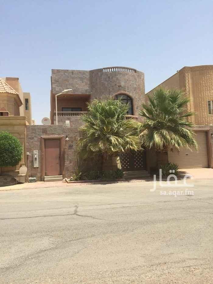 فيلا للإيجار في شارع الفضل الطبري ، حي ظهرة البديعة ، الرياض