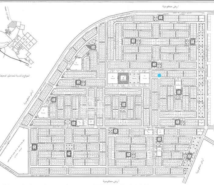 أرض للبيع في حرمة ، المجمعة