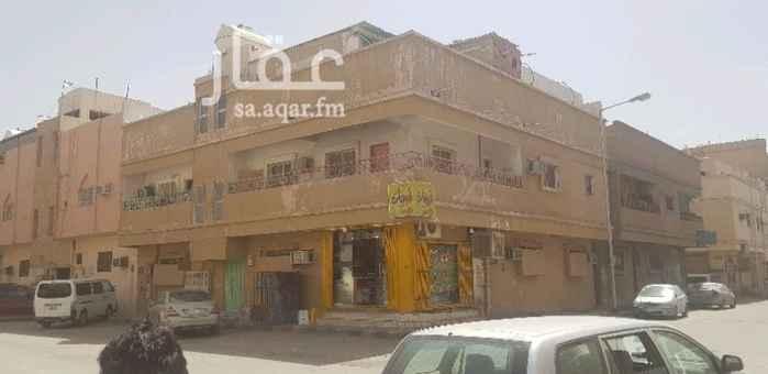عمارة للبيع في شارع سليمان القطان ، حي منفوحة ، الرياض
