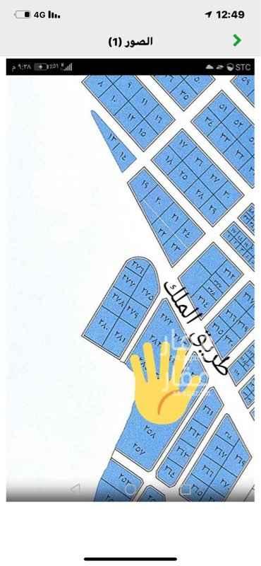 أرض للبيع في طريق الملك عبدالعزيز الفرعي ، حي ابحر الجنوبية ، جدة ، جدة