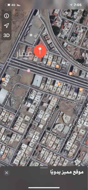 أرض للبيع في شارع سهل بن عمرو الفرعي ، حي الامير فواز الجنوبي ، جدة ، جدة
