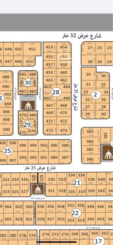 أرض للبيع في جدة ، حي الشراع ، جدة