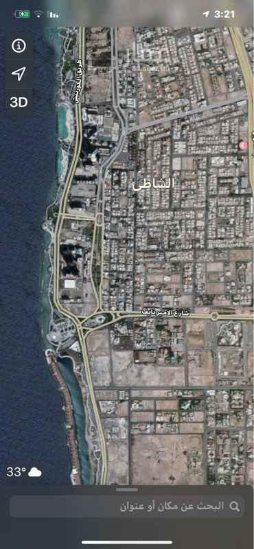أرض للبيع في شارع الامير فيصل بن فهد ، حي الشاطئ ، جدة ، جدة