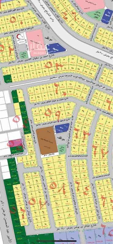 أرض للبيع في شارع سلمة بن نفيل ، حي نبلاء ، المدينة المنورة ، المدينة المنورة