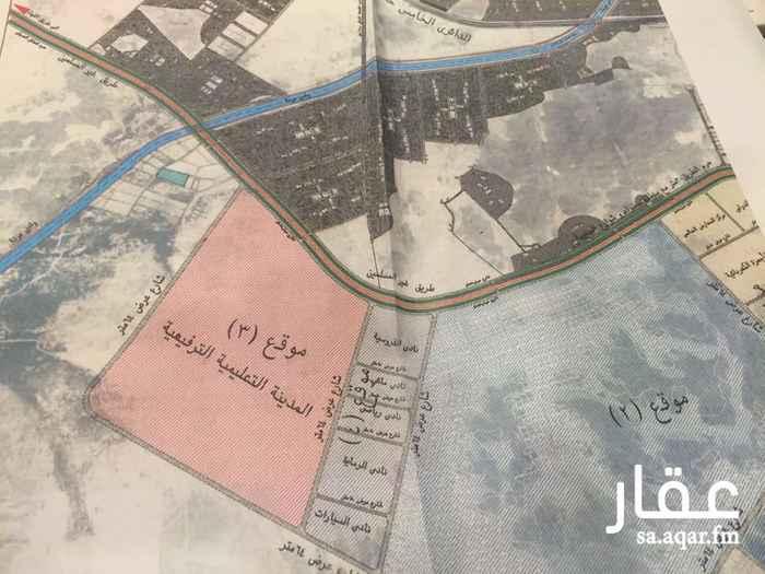 أرض للإيجار في طريق غير المسلمين - الدائري الخامس