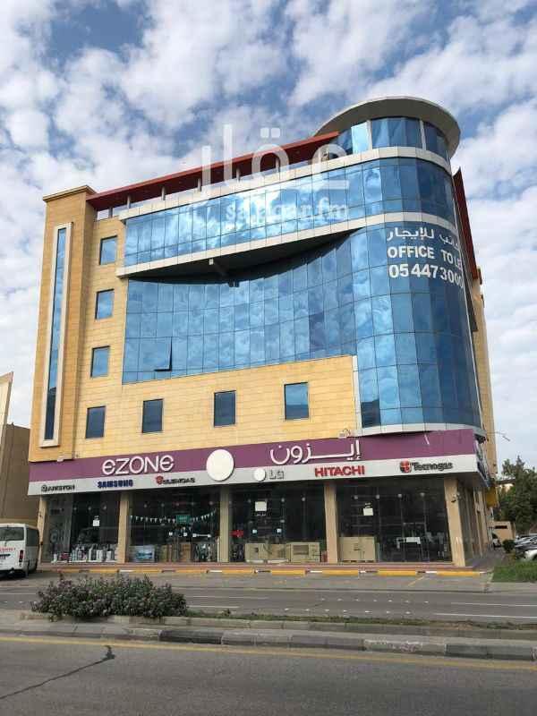 مكتب تجاري للإيجار في شارع الملك عبد العزيز ، حي العنود ، الدمام ، الدمام