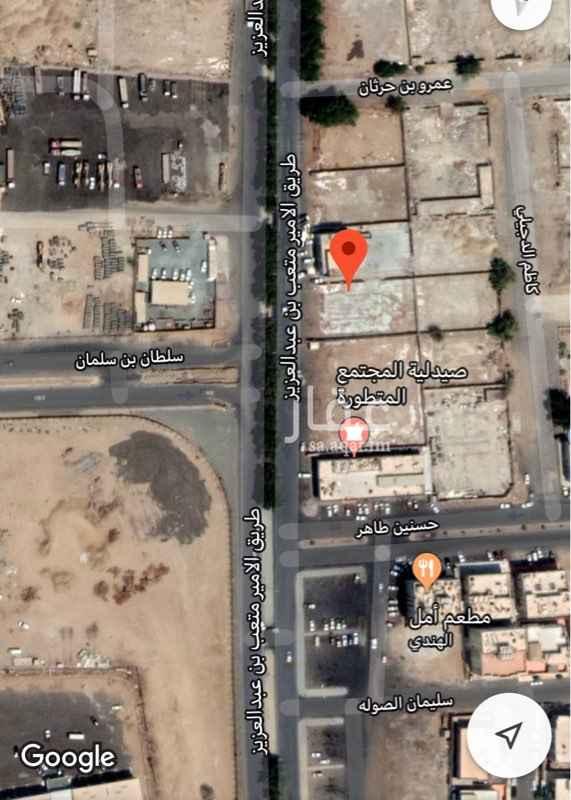 أرض للإيجار في طريق الامير متعب بن عبدالعزيز ، حي المروة ، جدة ، جدة