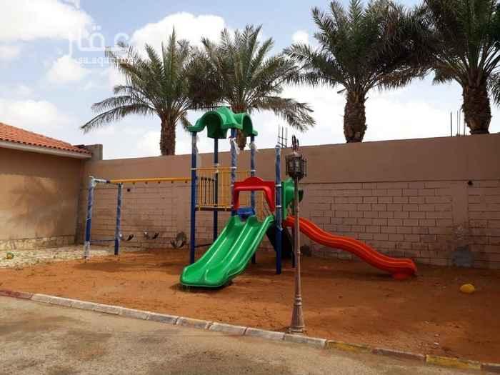 استراحة للإيجار في شارع السدرة ، حي الرمال ، الرياض