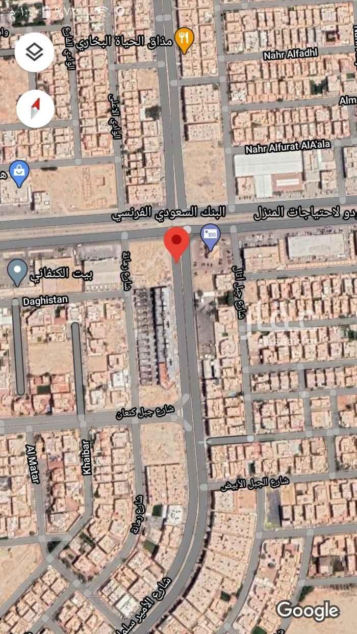 أرض للبيع في شارع بقيق ، حي الصحافة ، الرياض ، الرياض