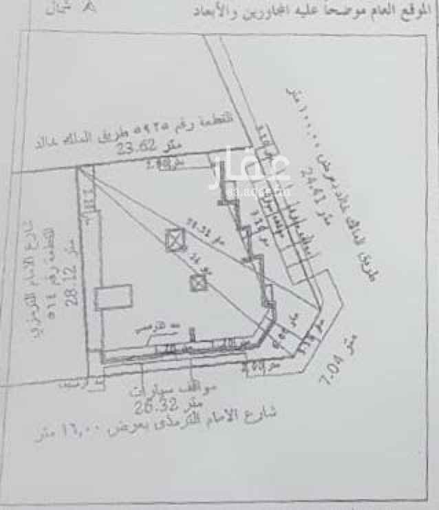 عمارة للبيع في طريق الملك خالد ، حي السكة الحديد ، المدينة المنورة ، المدينة المنورة