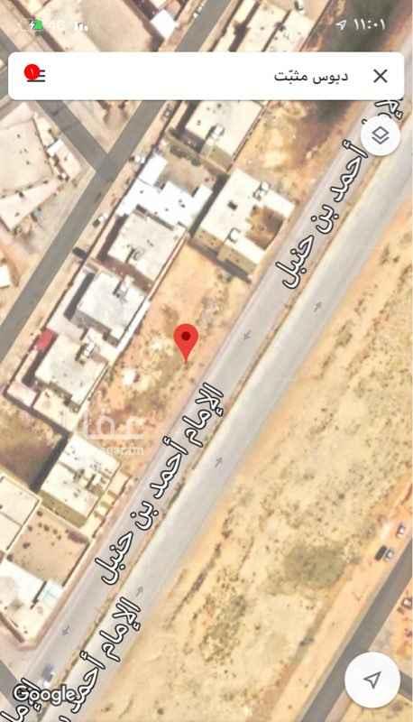 أرض للإيجار في شارع الإمام أحمد بن حنبل ، حي الزاهر ، الخرج