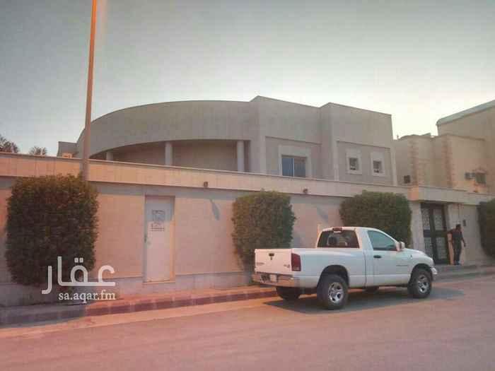 فيلا للبيع في شارع وبرة ، حي العقيق ، الرياض