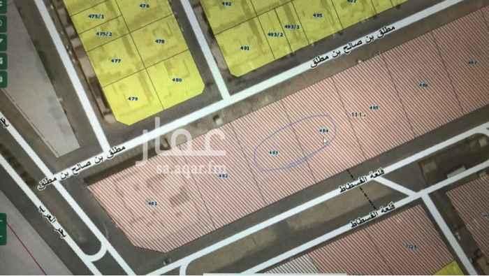 أرض للبيع في شارع قلعة الفسطاط ، حي اشبيلية ، الرياض ، الرياض
