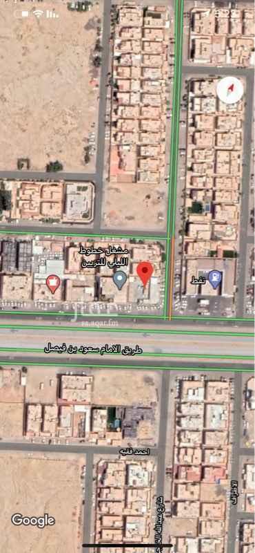 أرض للإيجار في طريق الامام سعود بن فيصل ، حي الملقا ، الرياض ، الرياض