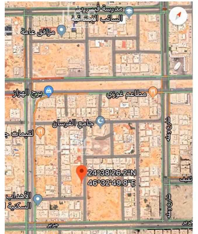 أرض للبيع في شارع تبالة ، حي ظهرة لبن ، الرياض ، الرياض