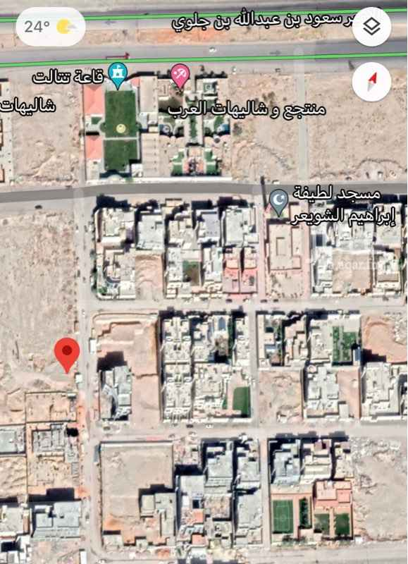 أرض للبيع في حي ، شارع مطلق بن صالح ، حي القيروان ، الرياض ، الرياض