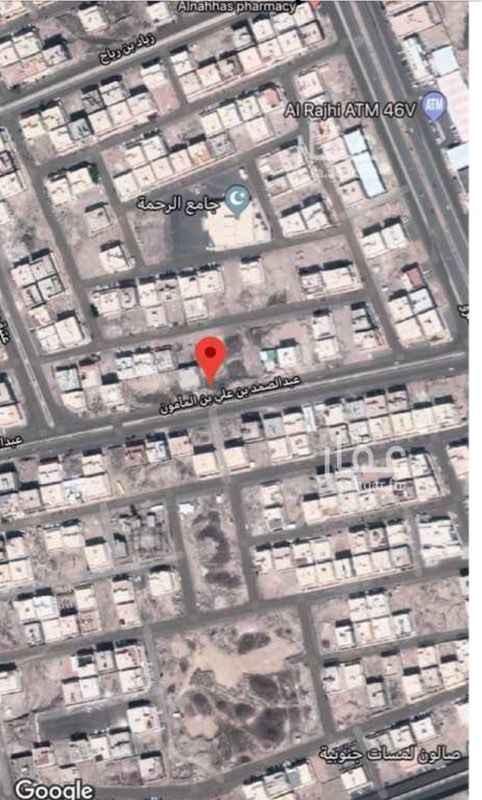 أرض للبيع في شارع عبدالصمد بن علي بن المأمون ، حي الرانوناء ، المدينة المنورة