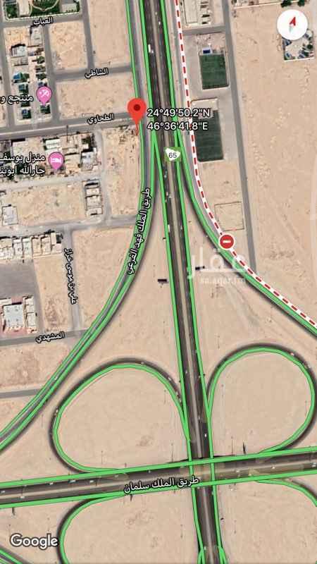 أرض للبيع في طريق الملك فهد الفرعي ، حي القيروان ، الرياض