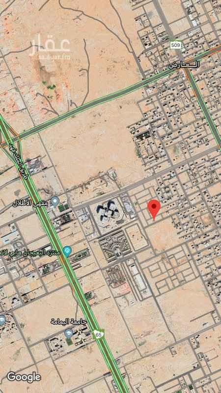 أرض للبيع في شارع عبدالرحمن بن خميس ، الرياض