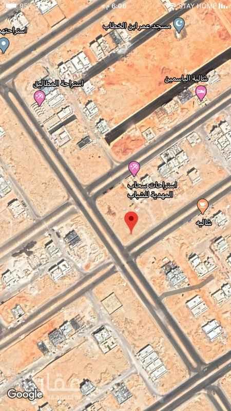 أرض للإيجار في شارع يحيى بن خالد البرمكي ، حي المهدية ، الرياض ، الرياض