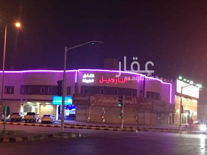 عمارة للإيجار في شارع الامام محمد اسماعيل الصنفاني ، حي الخليج ، الرياض