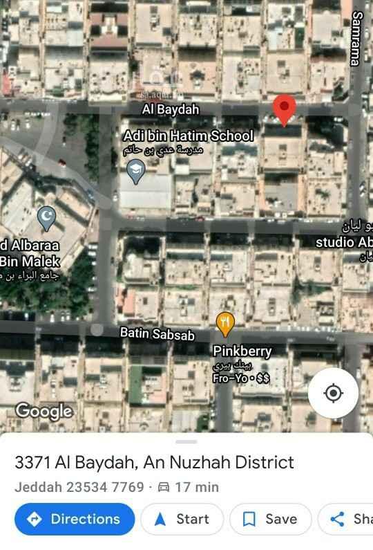 عمارة للبيع في شارع البيضه ، حي النزهة ، جدة ، جدة