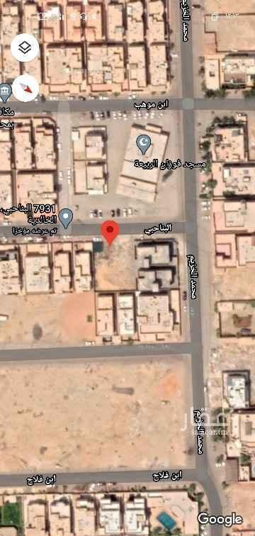 أرض للبيع في شارع البناحبي ، حي الخالدية - الدرعية ، الرياض ، الرياض