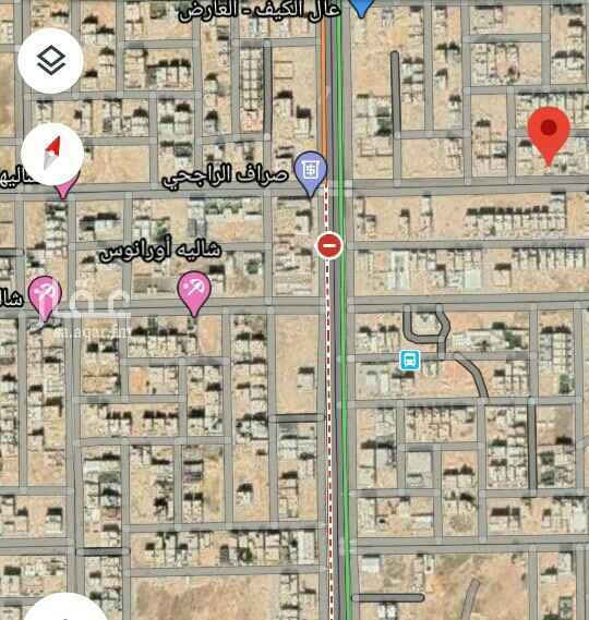 أرض للإيجار في شارع عبدالله بن العاص ، حي العارض ، الرياض ، الرياض