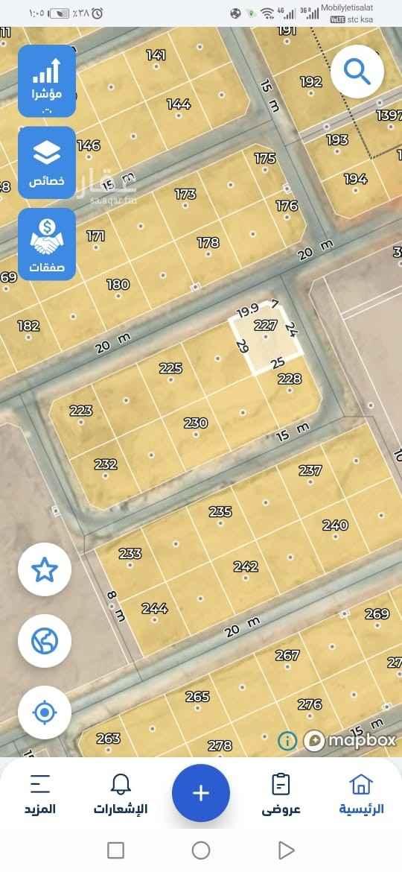 أرض للبيع في شارع رقم 226 ، حي النرجس ، الرياض ، الرياض