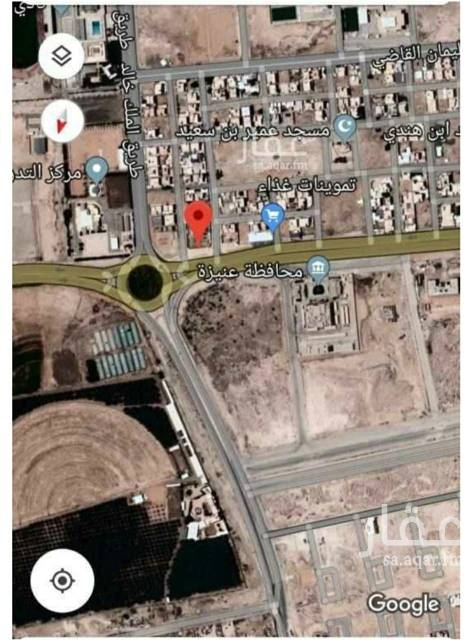 أرض للإيجار في شارع الشبيلي ، حي الملك فهد ، عنيزة