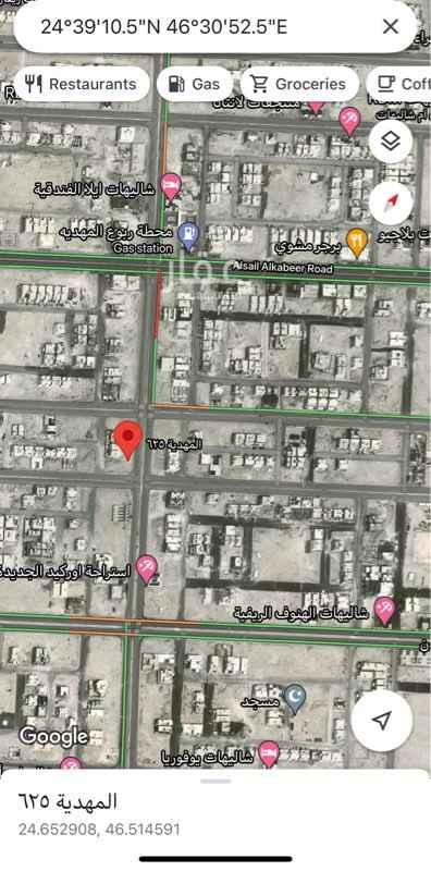 أرض للإيجار في حي ، شارع سعيد بن عبدالله باقشير ، حي المهدية ، الرياض ، الرياض