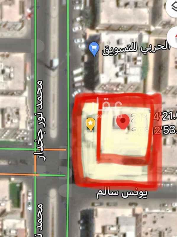 أرض للبيع في شارع محمد نور جخدار ، حي الصفا ، جدة ، جدة