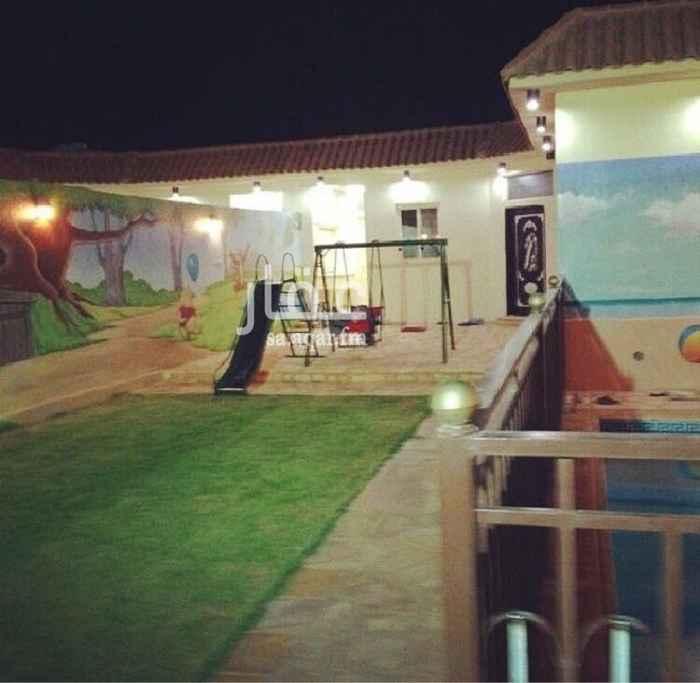 استراحة للبيع في الرياض ، حي الرمال ، الرياض
