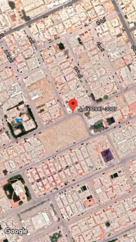 أرض للبيع في شارع النبل ، حي الصحافة ، الرياض