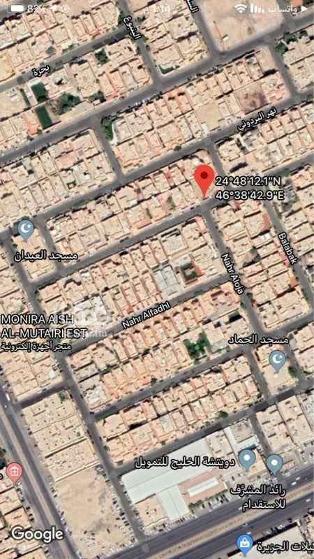 أرض للبيع في شارع نهر الفضل ، حي الصحافة ، الرياض ، الرياض