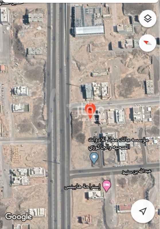 أرض للبيع في شارع عبدالله بن سليط ، حي نبلاء ، المدينة المنورة ، المدينة المنورة