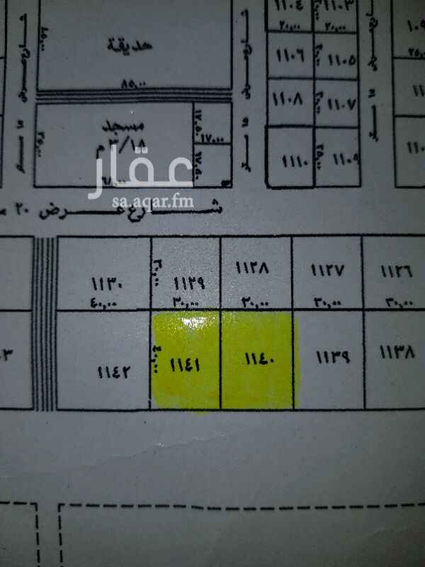 أرض للإيجار في شارع ينبع ، حي ظهرة لبن ، الرياض