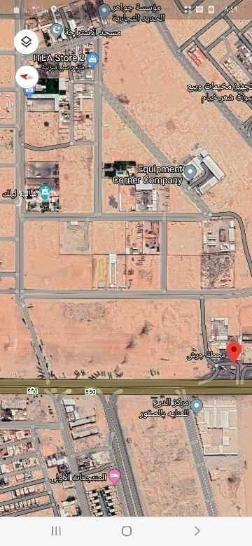 أرض للإيجار في طريق الجنادرية ، حي الشرق ، الرياض ، رماح