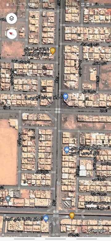 أرض للبيع في شارع نهاوند ، حي العزيزية ، الرياض ، الرياض