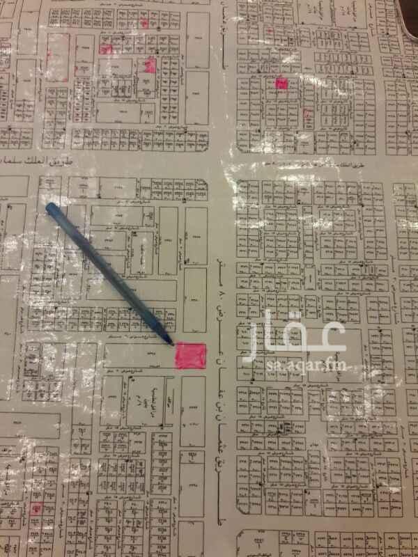 أرض للإيجار في طريق عثمان بن عفان ، النرجس ، الرياض