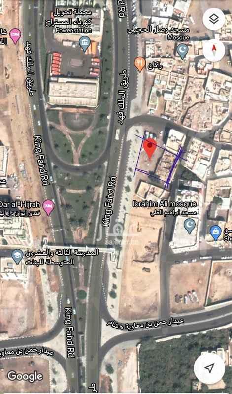 أرض للإيجار في شارع عثمان بن حيان ، حي مسجد الدرع ، المدينة المنورة ، المدينة المنورة
