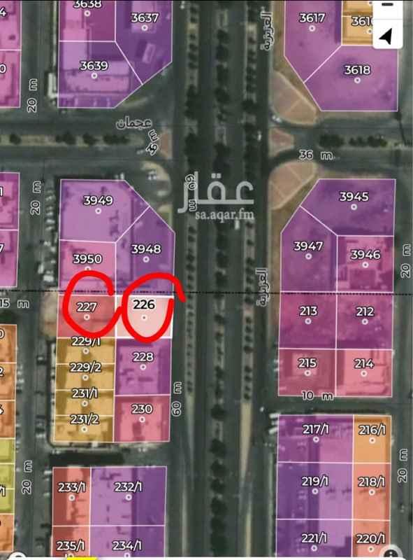 أرض للبيع في شارع جبل براك ، حي الدار البيضاء ، الرياض ، الرياض
