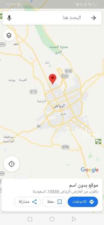 أرض للبيع في شارع القصر ، حي العارض ، الرياض ، الرياض