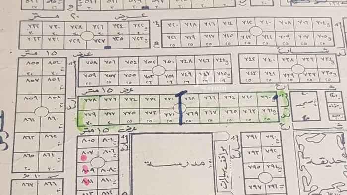 أرض للبيع في شارع عذير ، حي الوادي ، الرياض ، الرياض