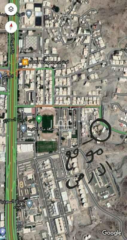 أرض للبيع في شارع وادي جليل ، حي التنعيم ، مكة ، مكة المكرمة