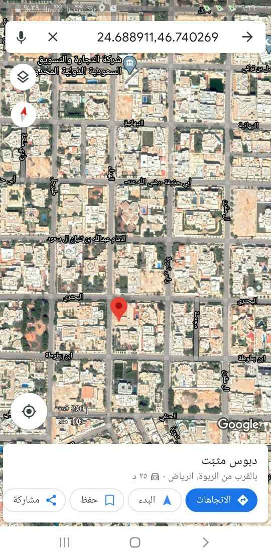 أرض للبيع في شارع الامام عبدالله بن ثنيان ال سعود ، حي الربوة ، الرياض ، الرياض